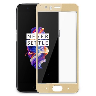 LeeHUR Protective Tempered Glass Film for OnePlus 5