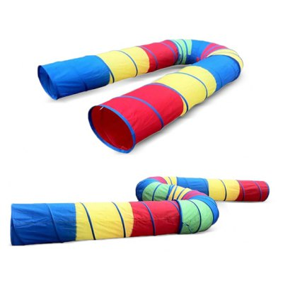Children Early Learning Kids Tunnel Tent 1PC