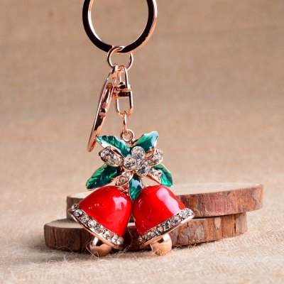 Beautiful Boutique Pendant Christmas Bell Key Ring