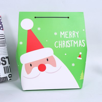 Christmas Funny Paper Decorative Gifts Box 5pcs