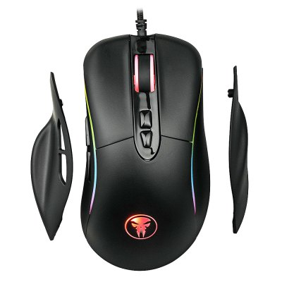 M98 Wired Gaming Mouse RGB Breathing Light 4000DPI