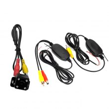 NX - 4D 2.4G Wireless Car Rear View Camera with Four Lights
