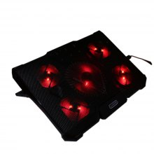 CoolCold Ice Devil 4 Notebook Cooling Pad with 5 Fans