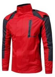 Outdoor Warm Hooded Punch Jacket