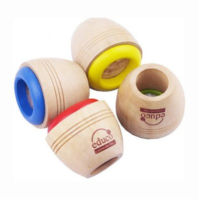 Mini Wooden Classic Kaleidoscope Toy 1PC