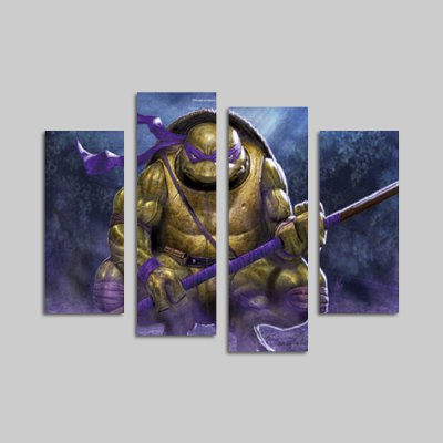 God Painting xyt - 1334 Canvas Prints Tortoise