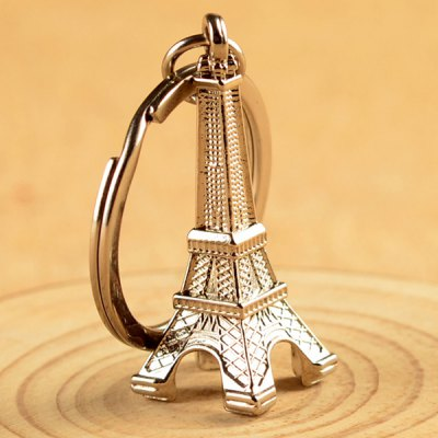 Boutique Key Ring Eiffel Tower Style