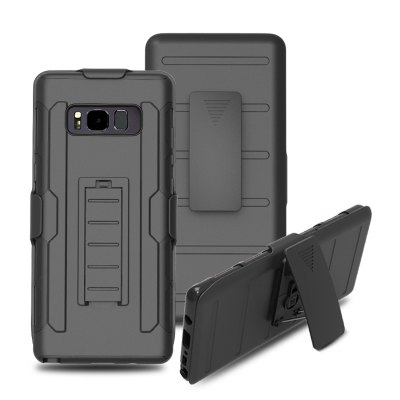 3 in 1 Shatter-proof Bracket Cover Case for Samsung Galaxy Note 8