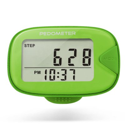 U - Trak CR - 873 Double Line LCD Display Pedometer Step Calories Distance stater
