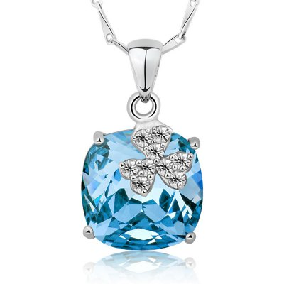 T400 1933 Romantic 925 Sterling Silver Necklace