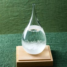 Creative Storm Glass Water Drop Weather Forecast Bottle