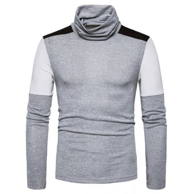 Fashion Men Sweater Long Sleeves