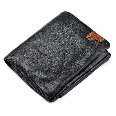 Genuine Leather Thin Minimalist Front Pocket Wallet