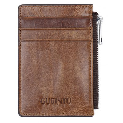 Men Practical Slim Minimalist Front Pocket Wallet
