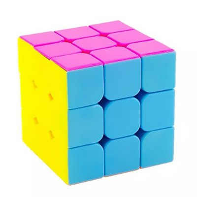 YJ Guanglong 57mm 3 x 3 x 3 Eco-friendly ABS Speed Magic Cube Toy