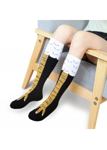 Creative Breathable Chicken Claw Pattern Socks