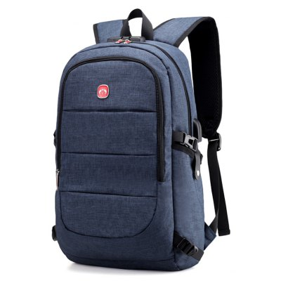Men Durable Anti-theft Backpack with USB Port