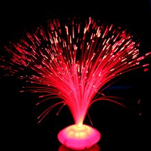 Color Changing LED Fiber Optic Lamp Home Decoration Light