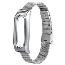 TAMISTER Stainless Steel Strap for Xiaomi Mi Band 2
