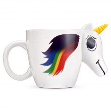 COZZINE Magic Unicorn Ceramic Heat Sensitive Mug Color Changing Cup