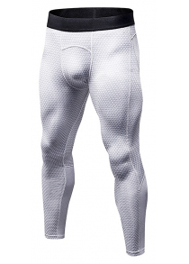 3D Stereo Printed Sports Elastic Pants for Men
