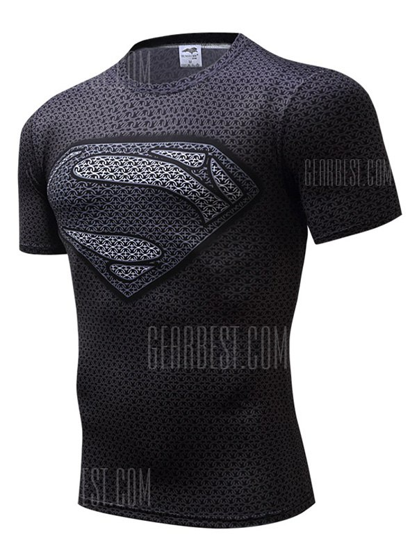 Quick Dry Breathable Sweat Absorption T-shirt for Men