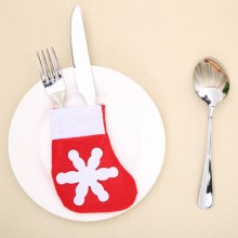 Mini Stocking Forks Knives Holder Creative Flatware Cover 1PC