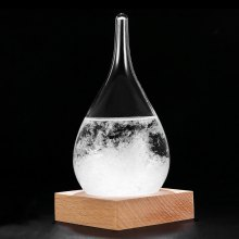 Water Drop Weather Forecast Storm Glass Crystal Wishing Ball