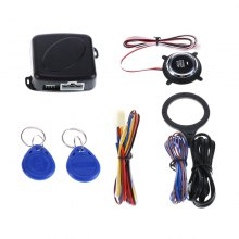 YKT - FD086 12V Universal Car Alarm Start Security System Kit