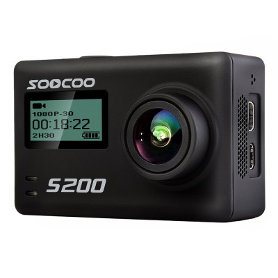 SOOCOO S200 4K Sports Camera Dual Touch Screens WiFi