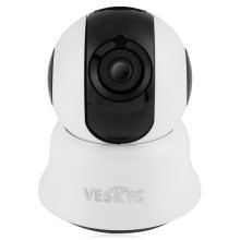 VESKYS 2.0MP HD Home Security IP Camera with Cloud Storage