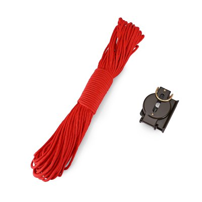 CTSmart 31m 7 Strands Parachute Cord with Compass