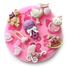 04087 Creative Silicone Cake Chocolate DIY Mold