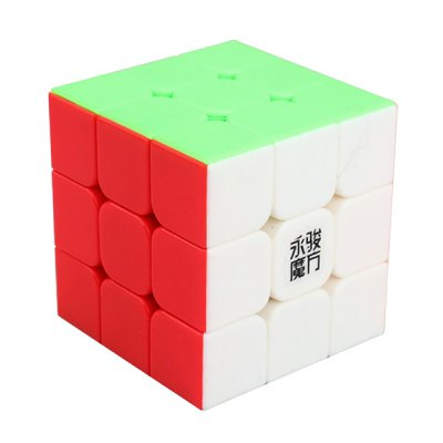 YJ YuLong 57mm 3 x 3 x 3 Smooth Speed Magic Cube Puzzle Toy