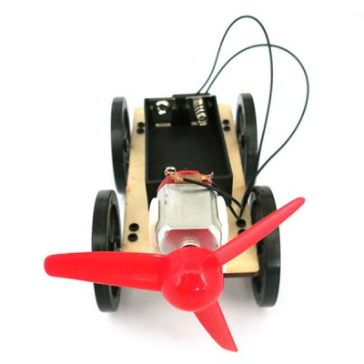 Puzzle DIY Module Toy B2 Wind Powered Car for Children