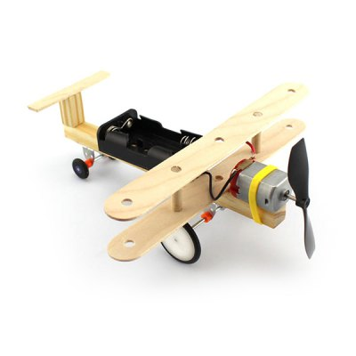 Puzzle Toy DIY Wind Powered Taxiing Plane