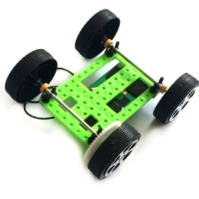DIY Creative Solar Energy Car Toy