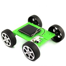 DIY Mini Solar Energy Model Car