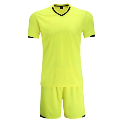 Male Breathable T-shirt Shorts Sports Suit
