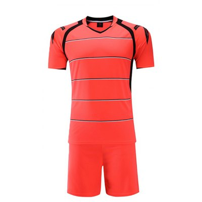 Men Breathable T-shirt / Shorts Sports Suit