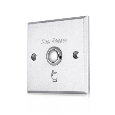 Aluminum Door Exit Push Release Button Panel Switch