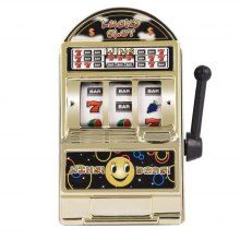 Mini Lucky Slot Machine Metal Anti-stress Toy Christmas Gift