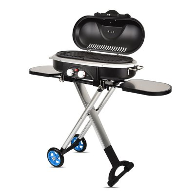 Foldable Detachable Portable Outdoor Barbecue Grill Stove
