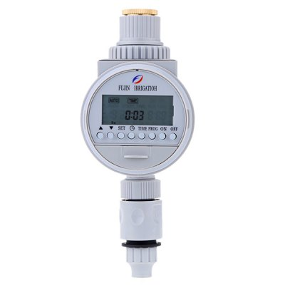 Irrigation Controller Solar Power Automatic Water Timer
