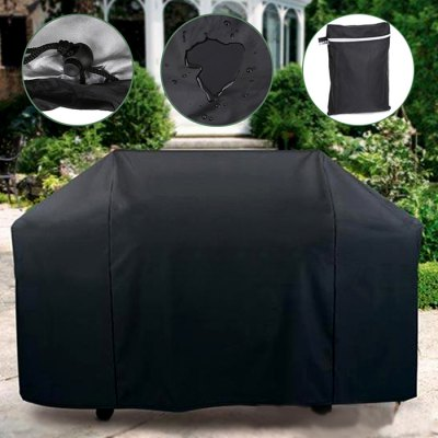 Waterproof BBQ Cover Polyester Barbecue Grill Protector