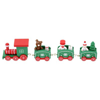 HESSION Train Toy Home Christmas Gift Decoration 1PC
