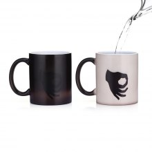 Color Changing Thermal Reaction Ceramic Coffee Mug Cup 1PC