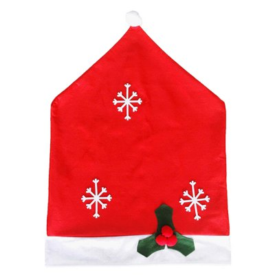 Snowflake Kitchen Chair Covers Table Cloth Sets Festive Decor