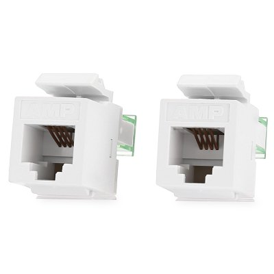 RJ11 Telephone Plug Connector for DIY 2PCS