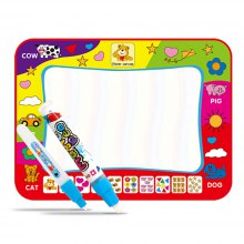Colorful Writing Doodle Mat Water Drawing Board